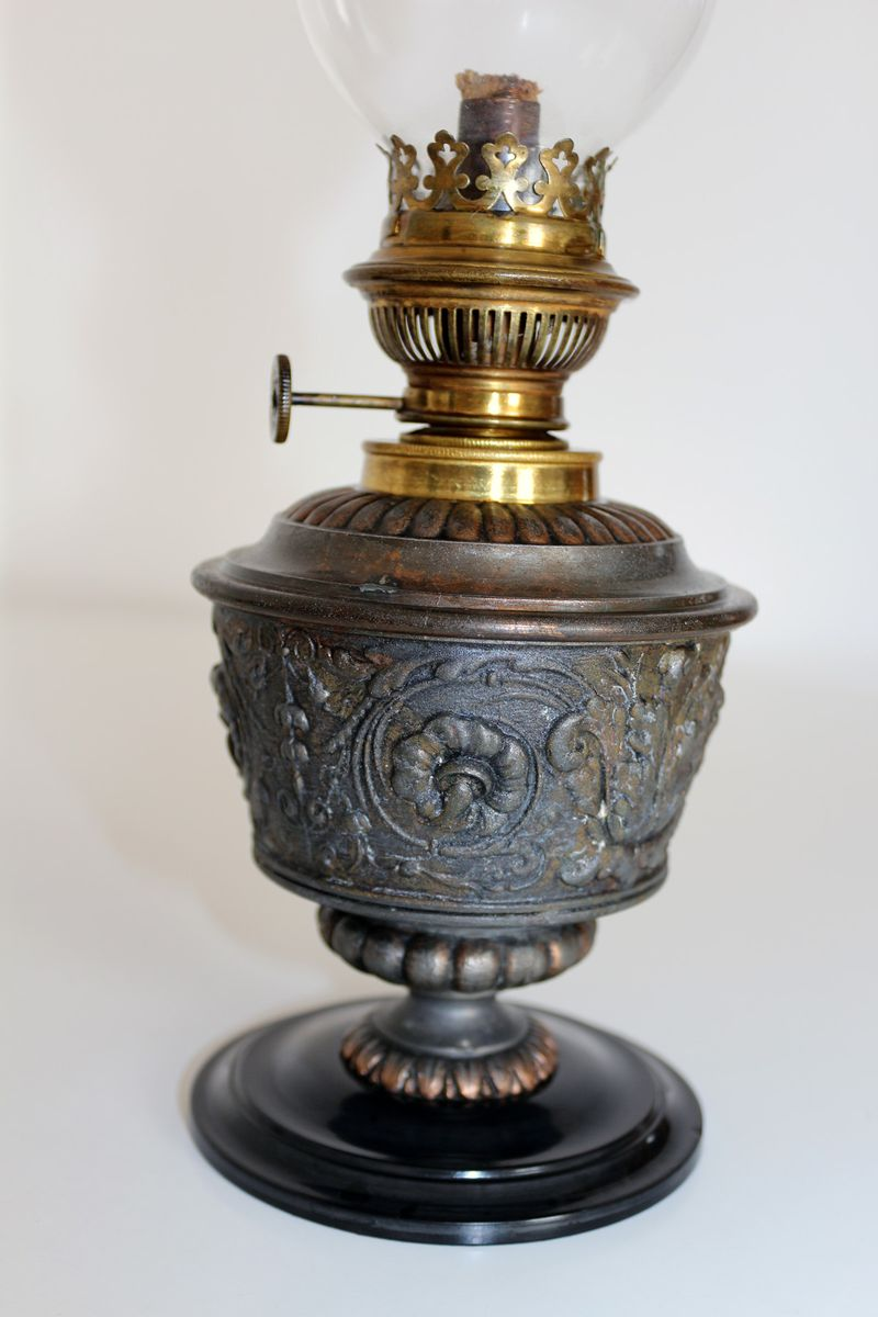 Oil Lamp, 1860s For Sale At Pamono