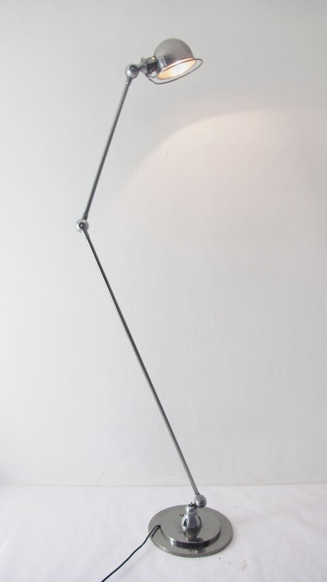 Vintage Floor Lamp by Jean-Louis Domecq for Jieldé for sale at Pamono