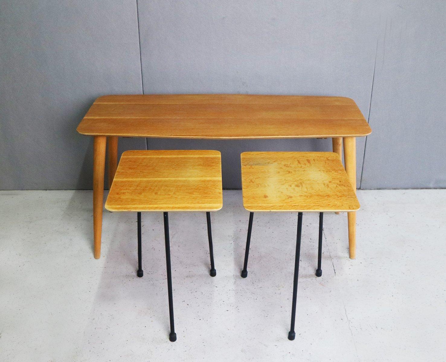 Mid Century Modern Nesting Tables, 1960s