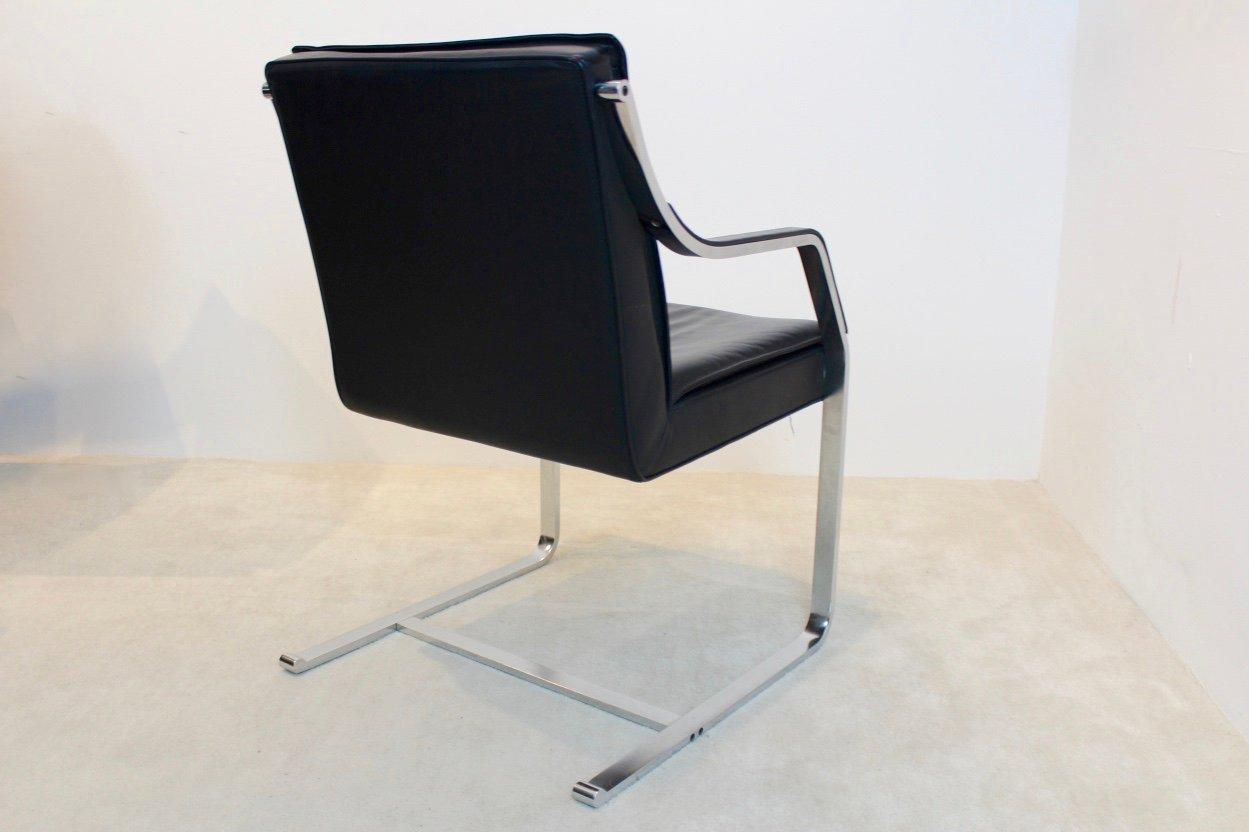 Vintage art collection leder stuhl von rudolf b glatzel f r walter knoll bei pamono kaufen - Vintage stuhl leder ...