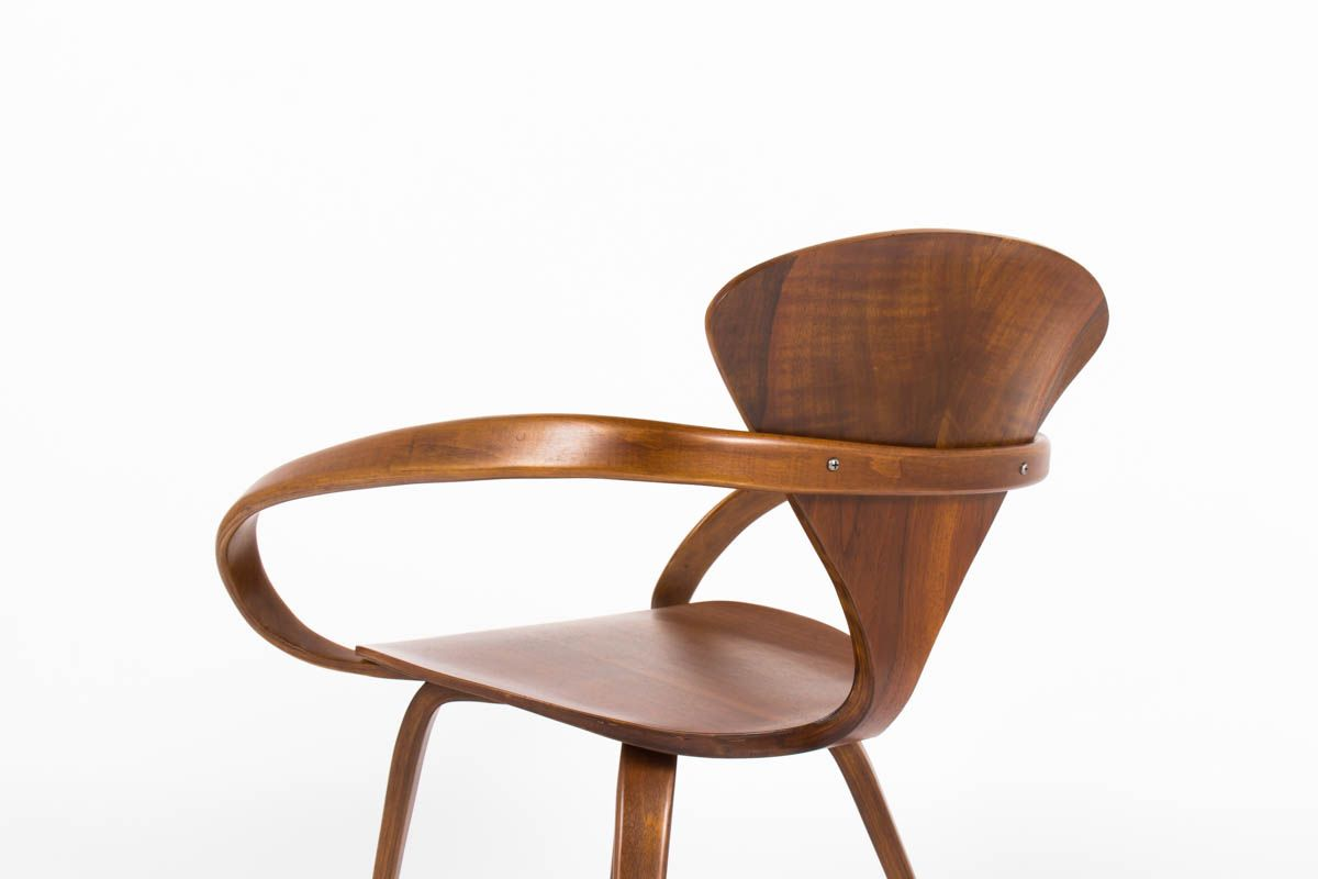 Armchair By Norman Cherner For Plycraft 1960s For Sale At