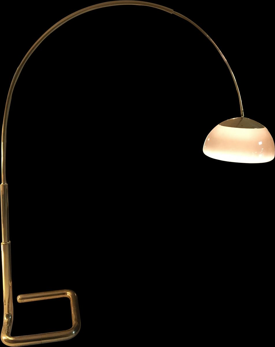 Vintage Arc Floor Lamp, 1970s for sale at Pamono