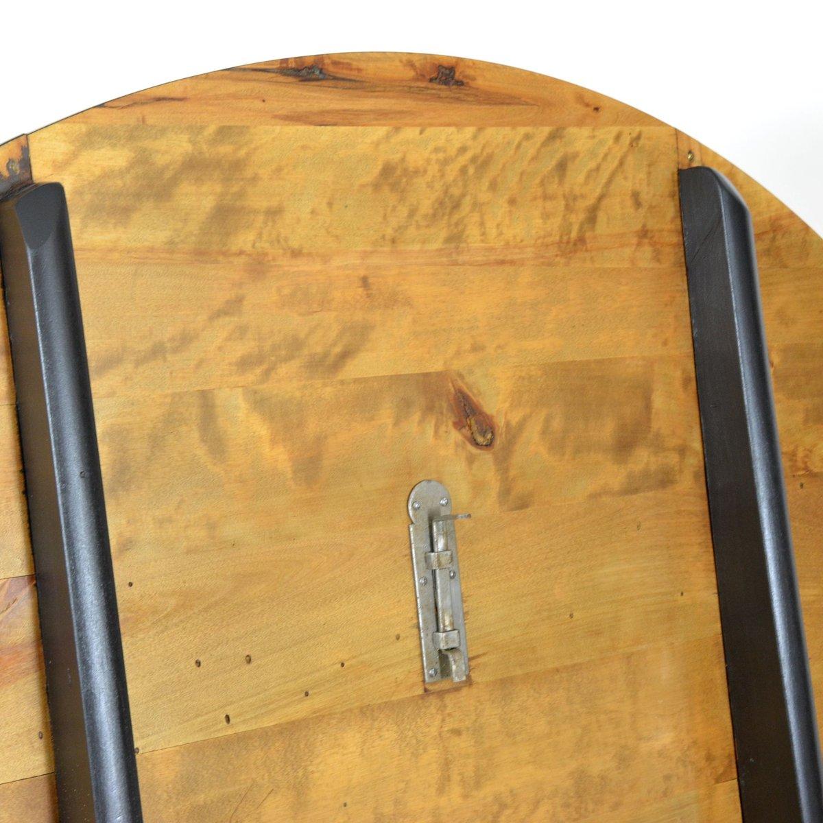 vintage pappel kirschholz esstisch bei pamono kaufen. Black Bedroom Furniture Sets. Home Design Ideas