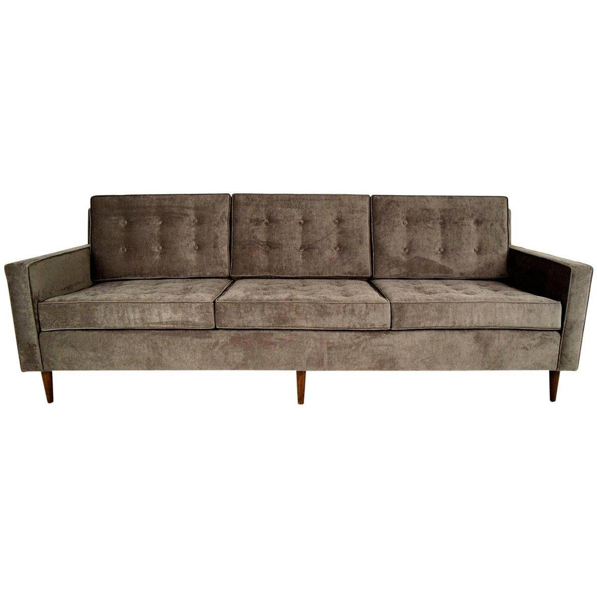 mid century 3 sitzer sofa 1960er bei pamono kaufen. Black Bedroom Furniture Sets. Home Design Ideas