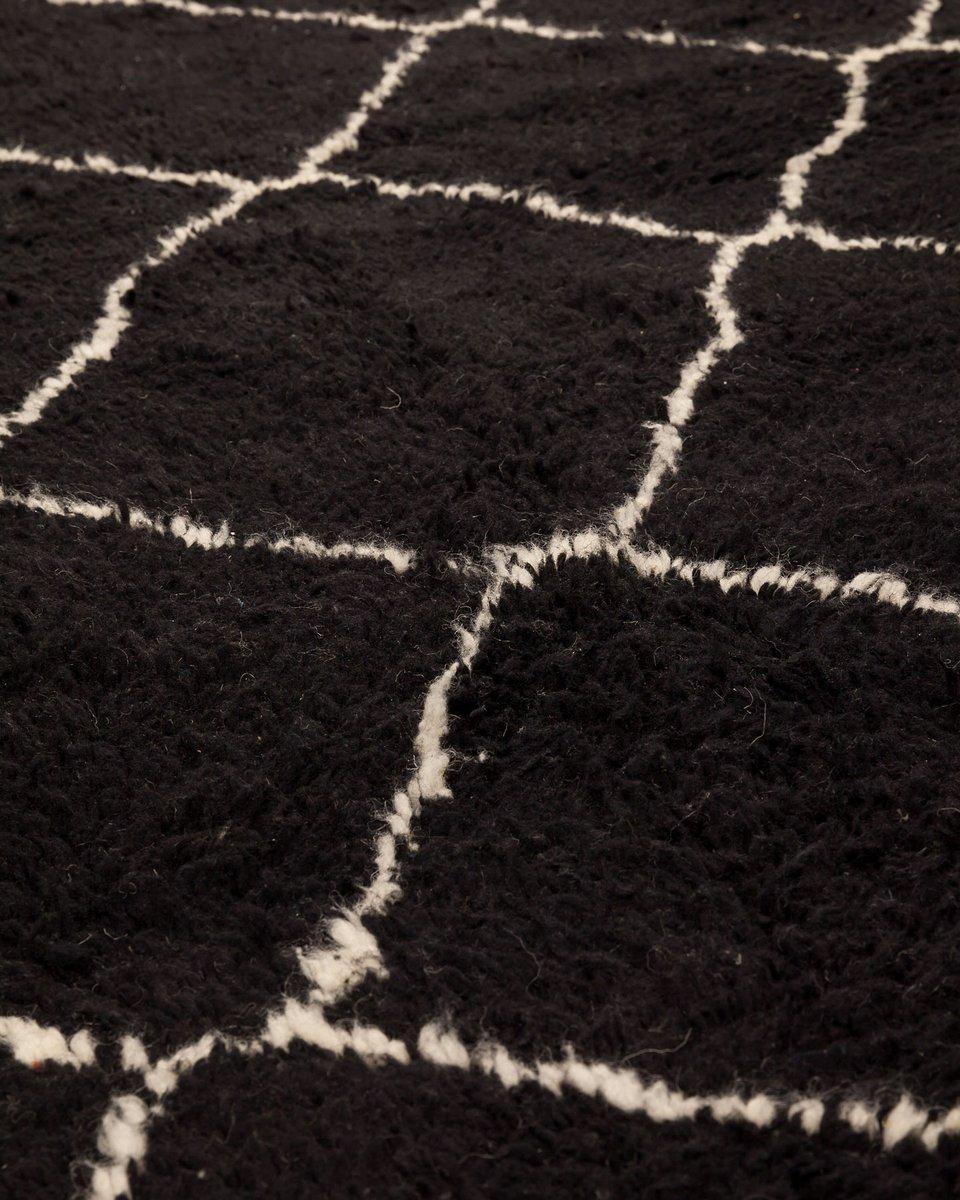 marokkanischer contemporary berber teppich von beni ouarain bei pamono kaufen. Black Bedroom Furniture Sets. Home Design Ideas