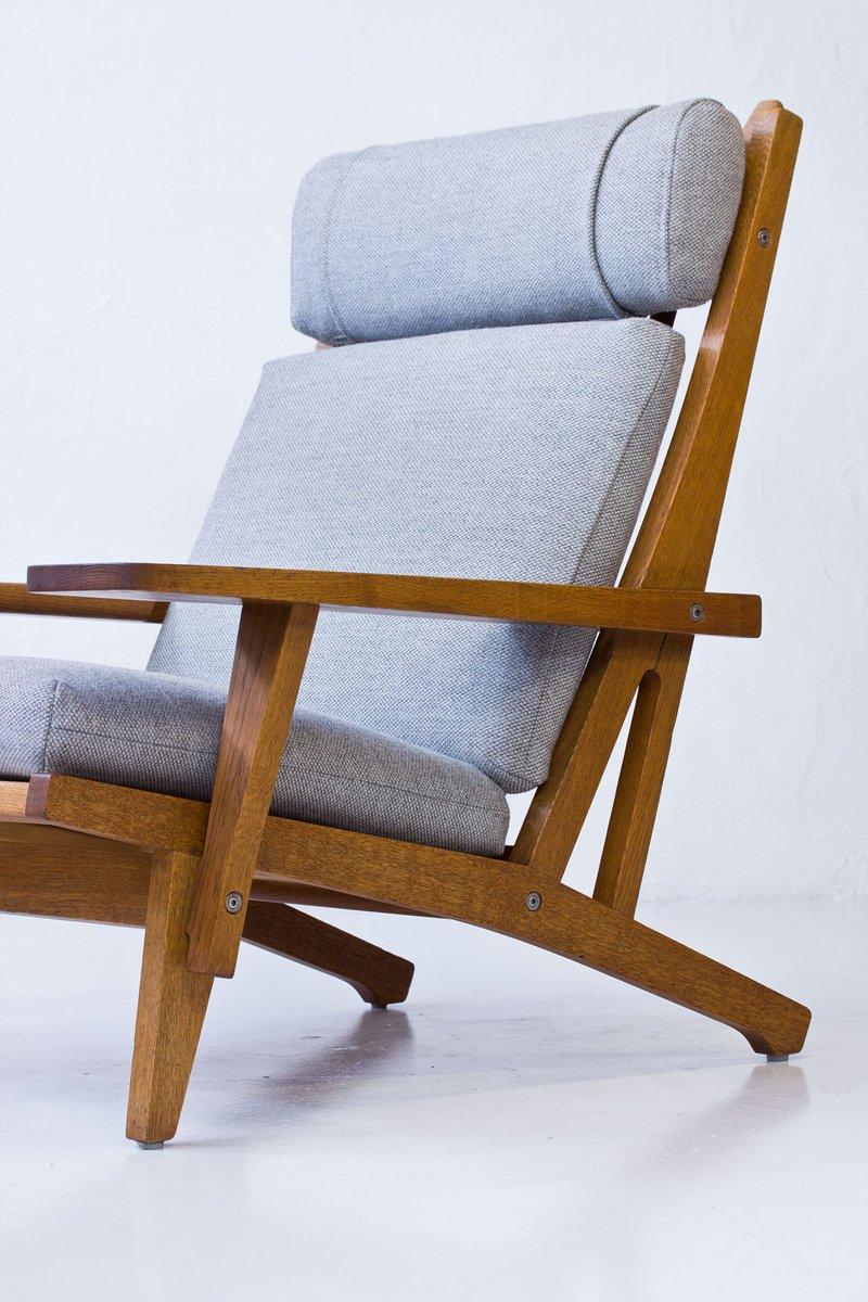 GE 375 Eichenholz Sessel Von Hans J. Wegner Für Getama, 1960er Bei .