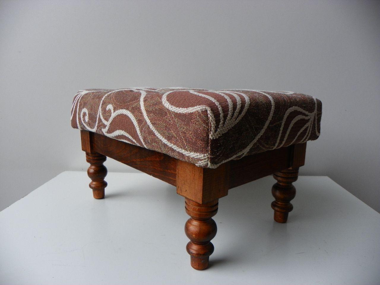 repose pieds vintage 1950s en vente sur pamono. Black Bedroom Furniture Sets. Home Design Ideas