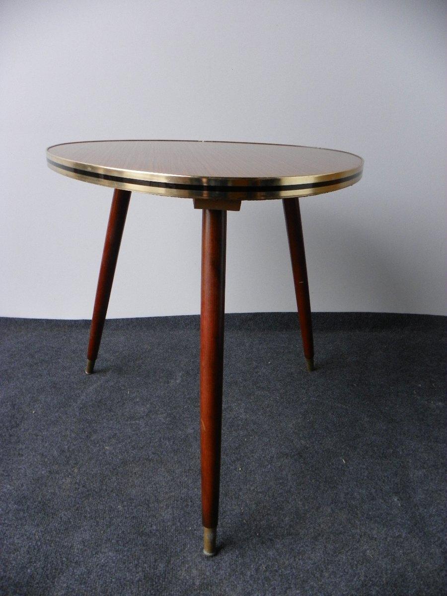 Table Basse Vintage Tripode, 1950s en vente sur Pamono
