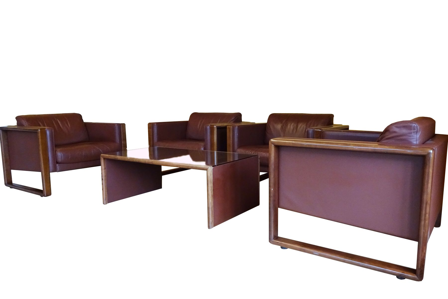 Mid-Century Living Room Set from Wilhelm Knoll for sale at Pamono