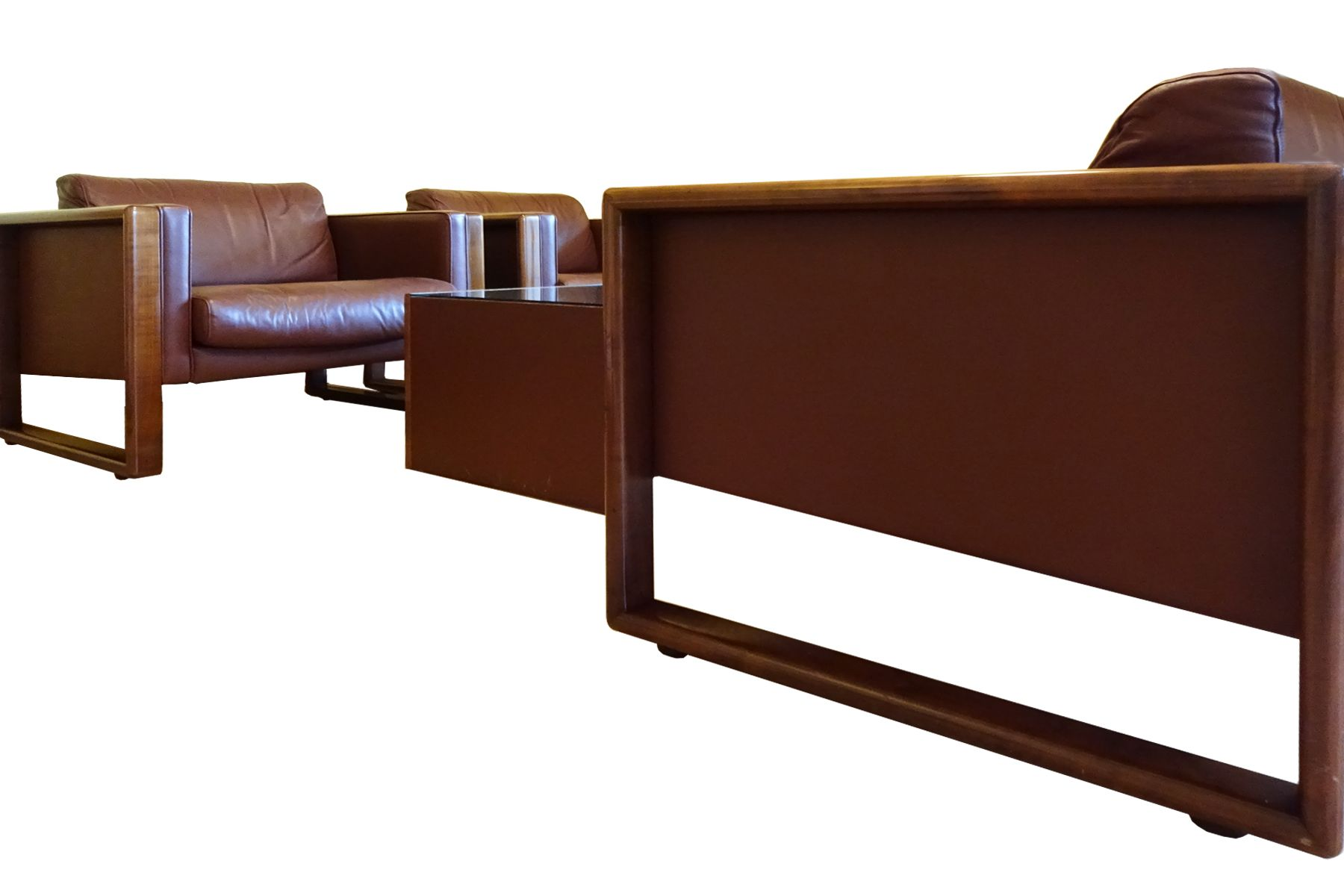 mid century living room set from wilhelm knoll for sale at pamono. Black Bedroom Furniture Sets. Home Design Ideas
