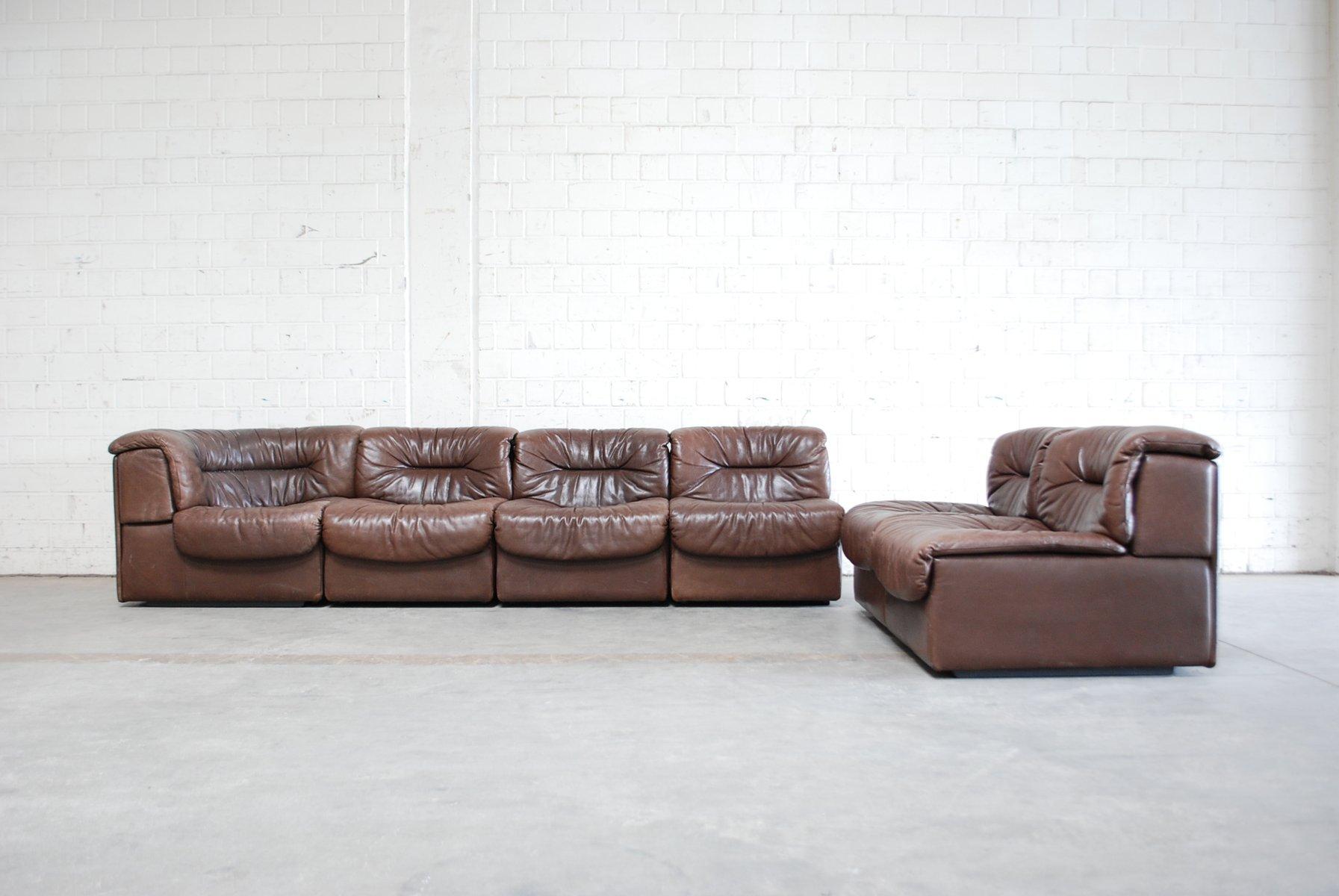 vintage modular sofa set from de sede 1970s for sale at. Black Bedroom Furniture Sets. Home Design Ideas