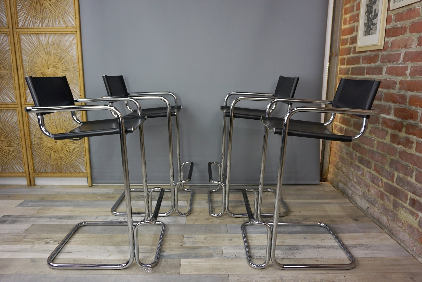 Stools By Mart Stam 1970s Set Of 4 For Sale At Pamono