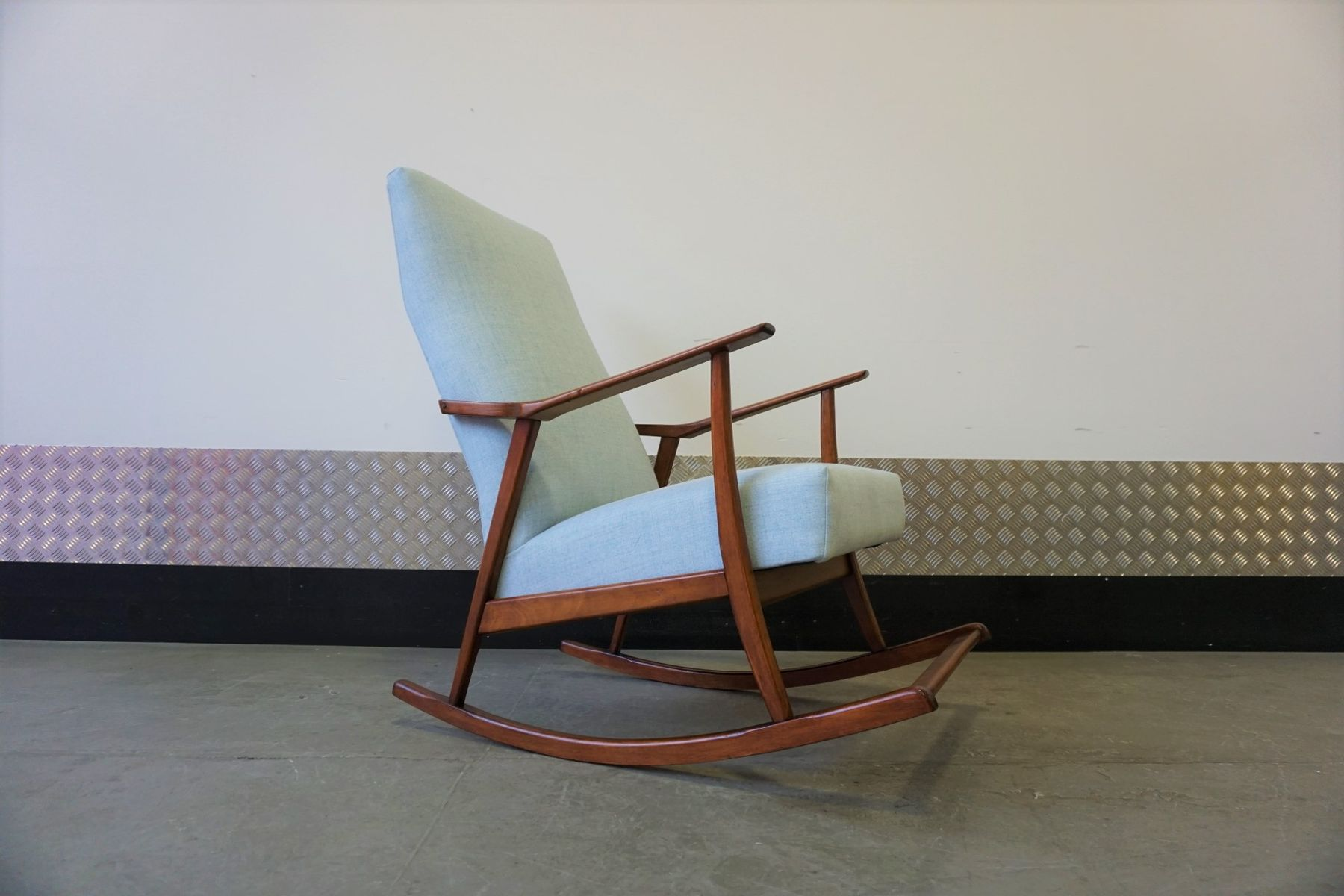 century by wanscher n france mid s ole for fd in teak rocking son chair