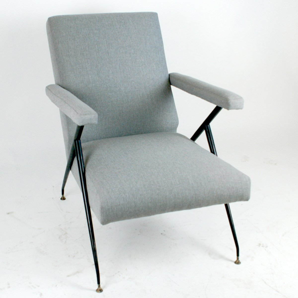 italienischer verstellbarer mid century sessel bei pamono. Black Bedroom Furniture Sets. Home Design Ideas