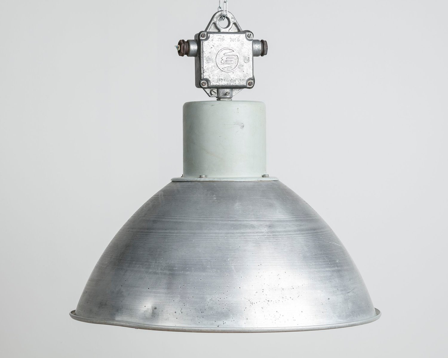 Industrial pendant lamp from elektrosvit 1970s for sale at pamono industrial pendant lamp from elektrosvit 1970s mozeypictures Image collections