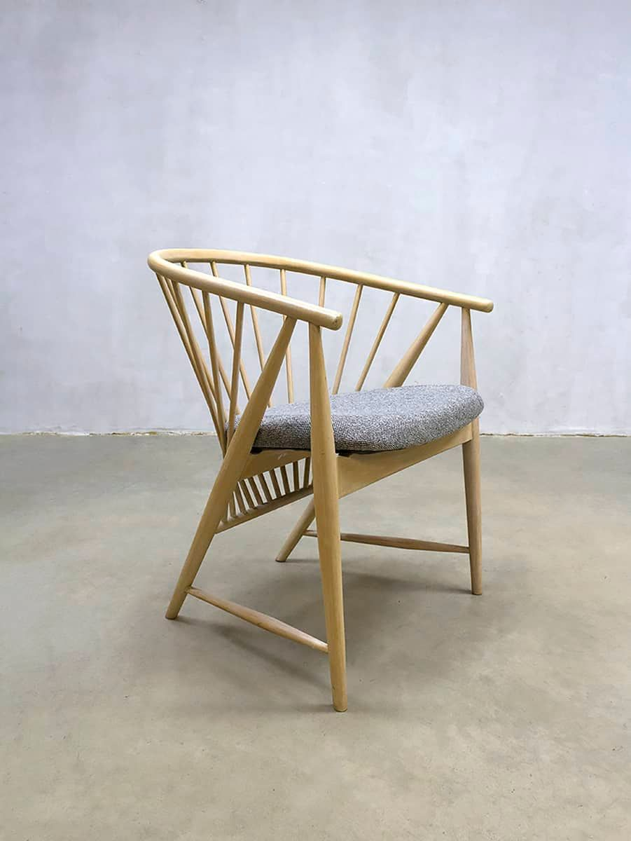 b571e446c elegant vintage sun feather spindleback chair by sonna rosen for nssj  stolfabrik with windsor stol