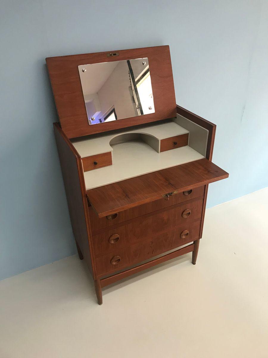 d nischet mid century teak sekret r bei pamono kaufen. Black Bedroom Furniture Sets. Home Design Ideas
