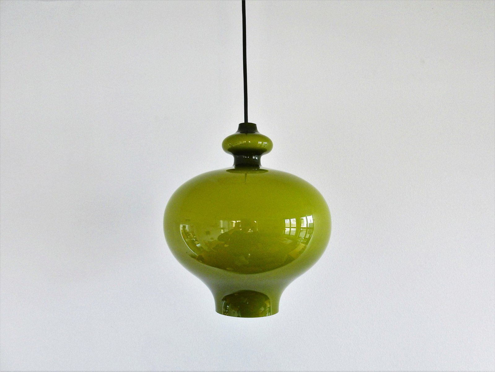 Green glass pendant lamp by hans agne jakobsson for markaryd 1960s green glass pendant lamp by hans agne jakobsson for markaryd 1960s aloadofball Choice Image