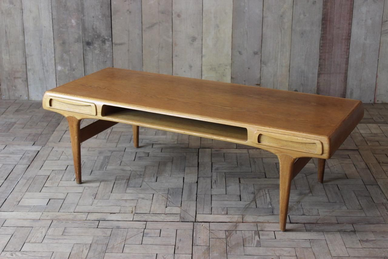 MidCentury Oak Coffee Table For Sale At Pamono - Mid century oak coffee table
