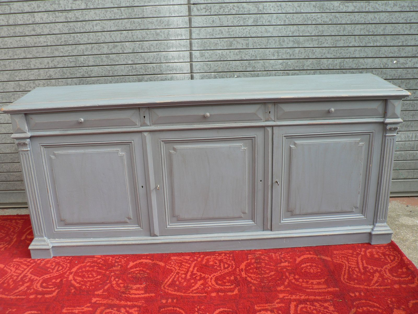 Antique Louis XVI Style Sideboard for sale at Pamono