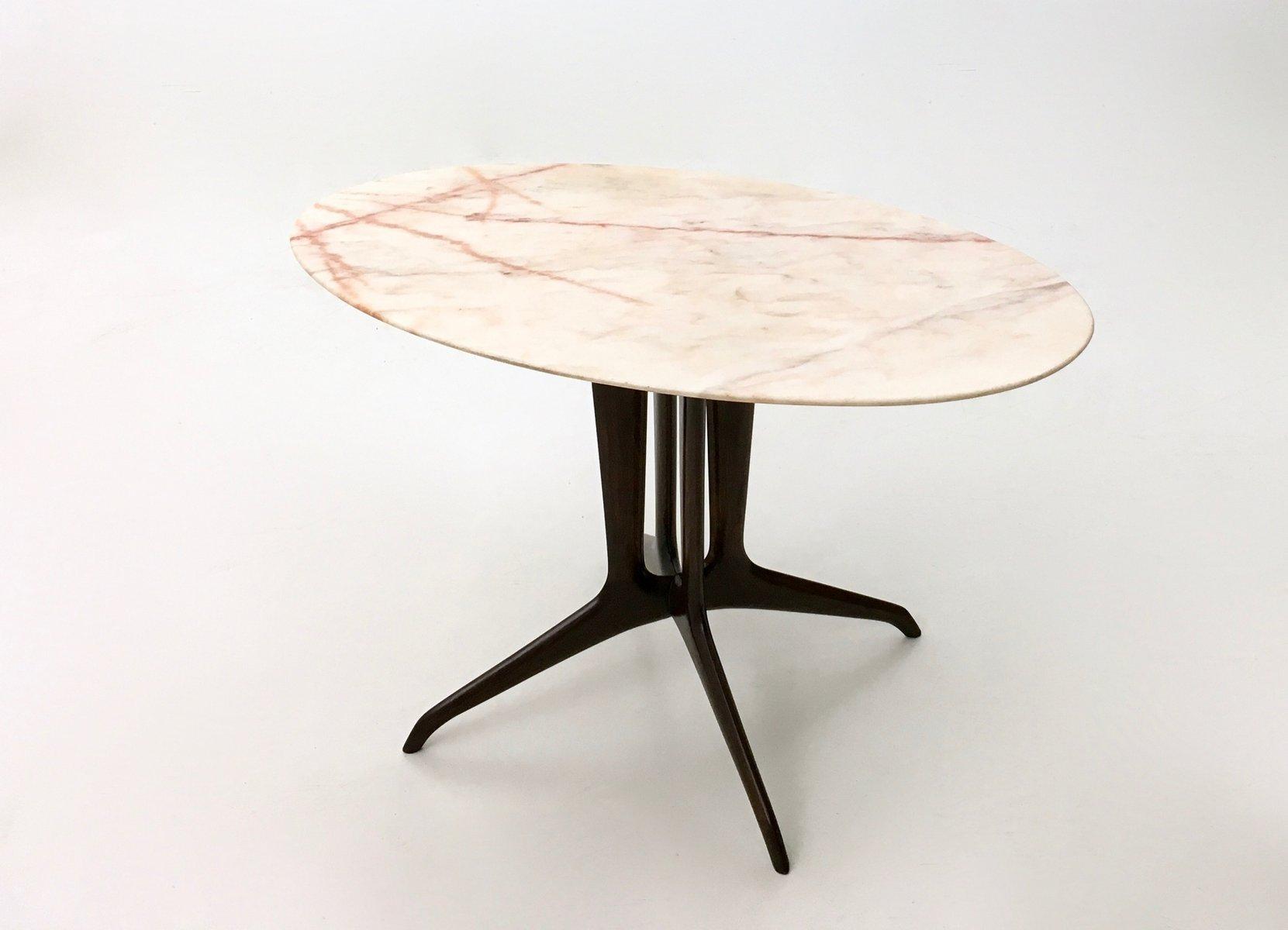 italienischer couchtisch mit portugiesischer marmorplatte. Black Bedroom Furniture Sets. Home Design Ideas