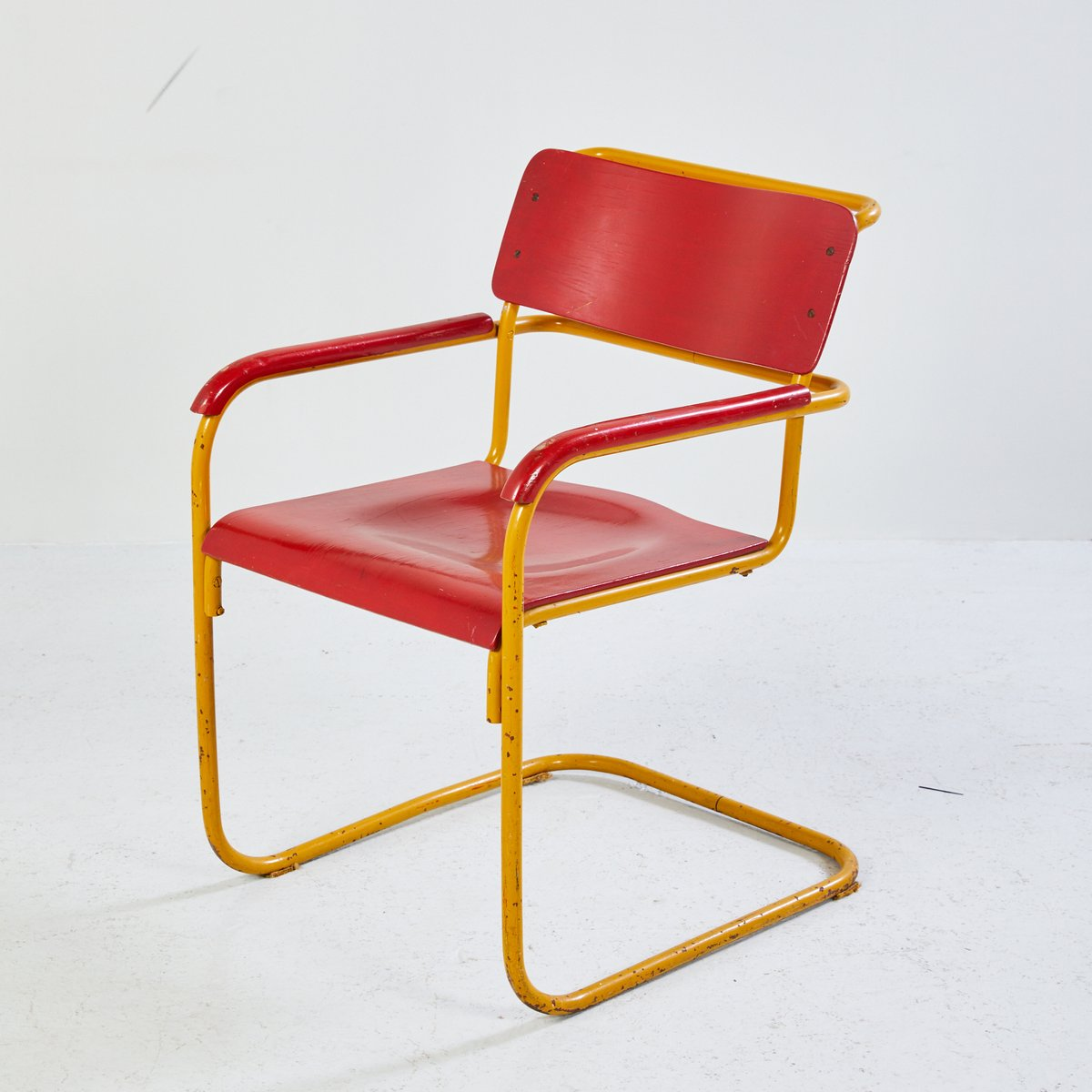 What Is Bauhaus Style yellow bauhaus style chair 1960s for sale at pamono