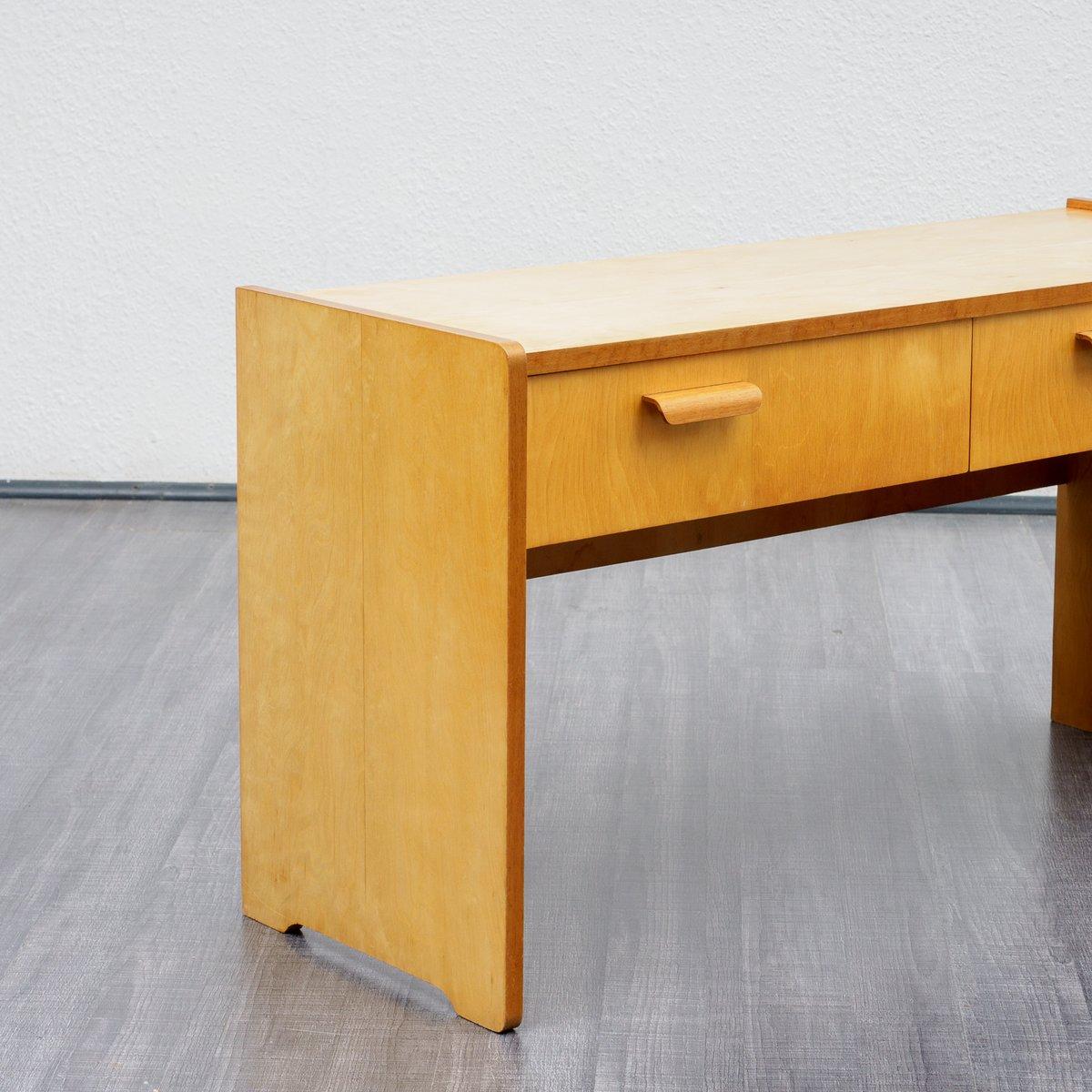 konsole mit schubladen von wk m bel 1950er bei pamono kaufen. Black Bedroom Furniture Sets. Home Design Ideas