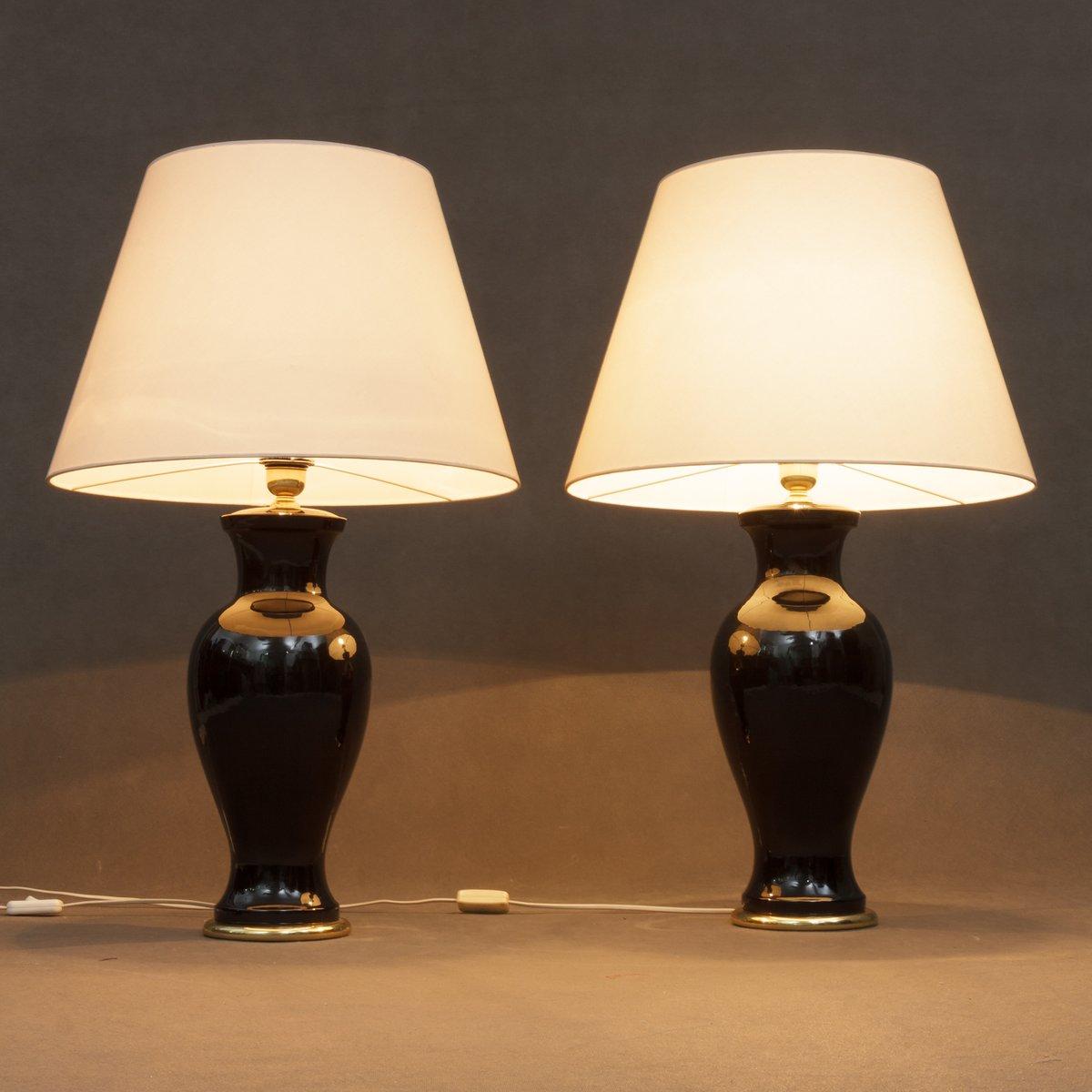 Italienische vintage tischlampen 2er set bei pamono kaufen for Tischlampen vintage