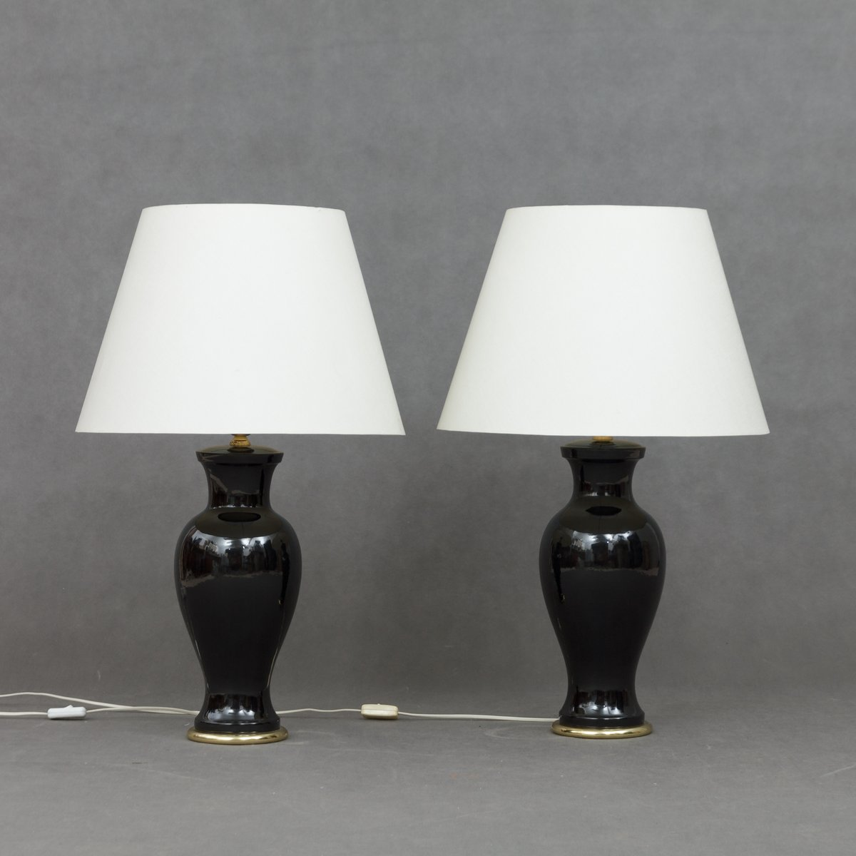 High Quality Vintage Italian Table Lamps, Set Of 2