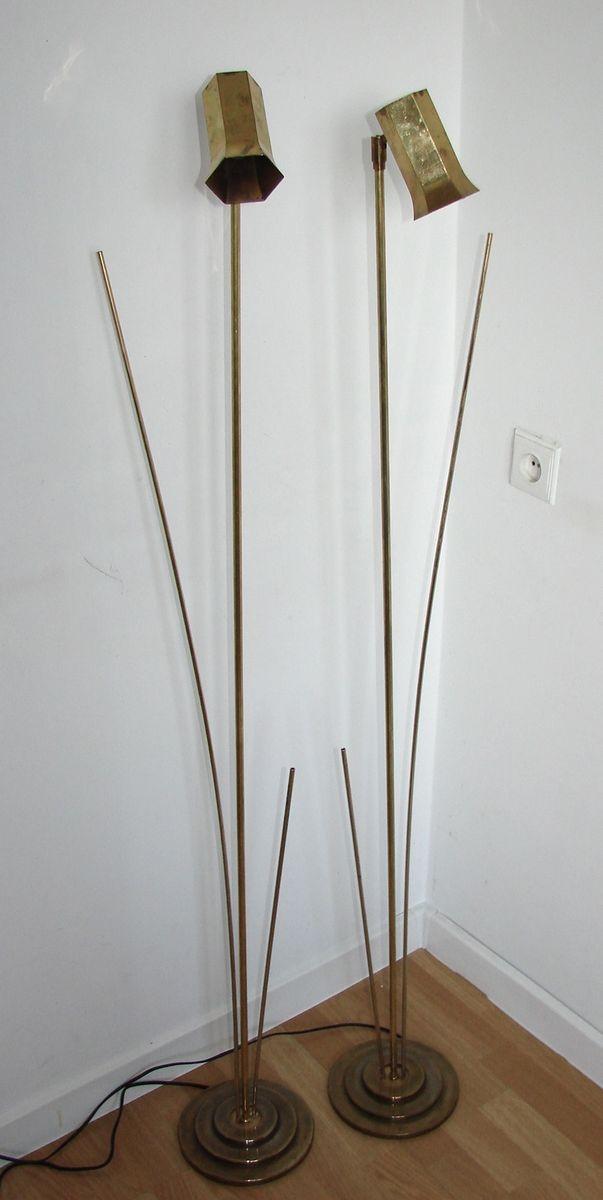 stehlampen von koch lowy f r omi 1960er 2er set bei pamono kaufen. Black Bedroom Furniture Sets. Home Design Ideas