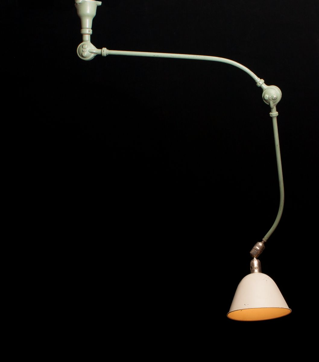 Industrial Triplex Lamp by Johan Petter Johansson, 1960s for sale at ...