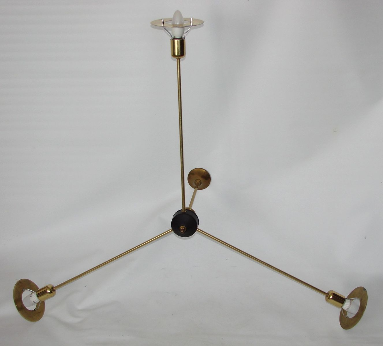 Minimalist chandelier 1960s for sale at pamono price per piece aloadofball Image collections