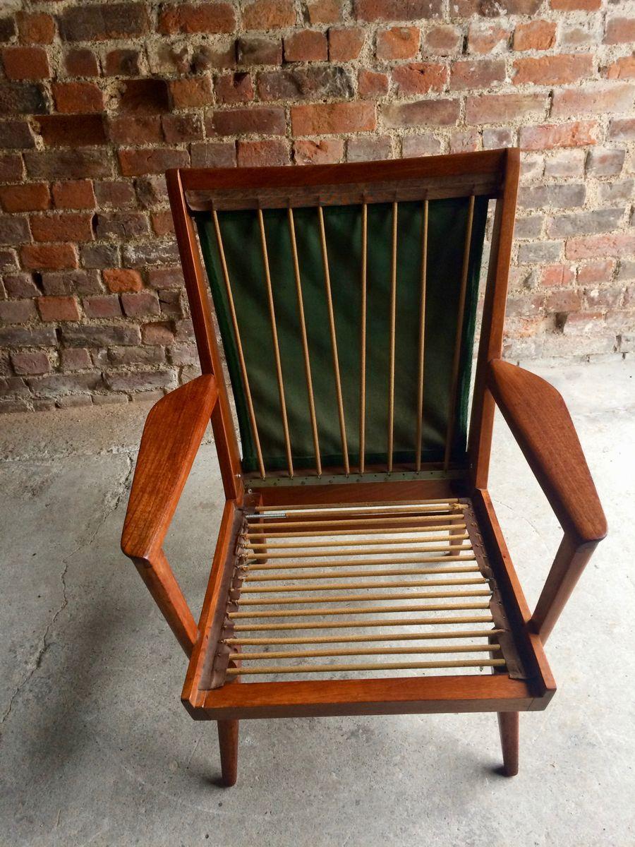 d nischer teak sessel 1950er bei pamono kaufen. Black Bedroom Furniture Sets. Home Design Ideas