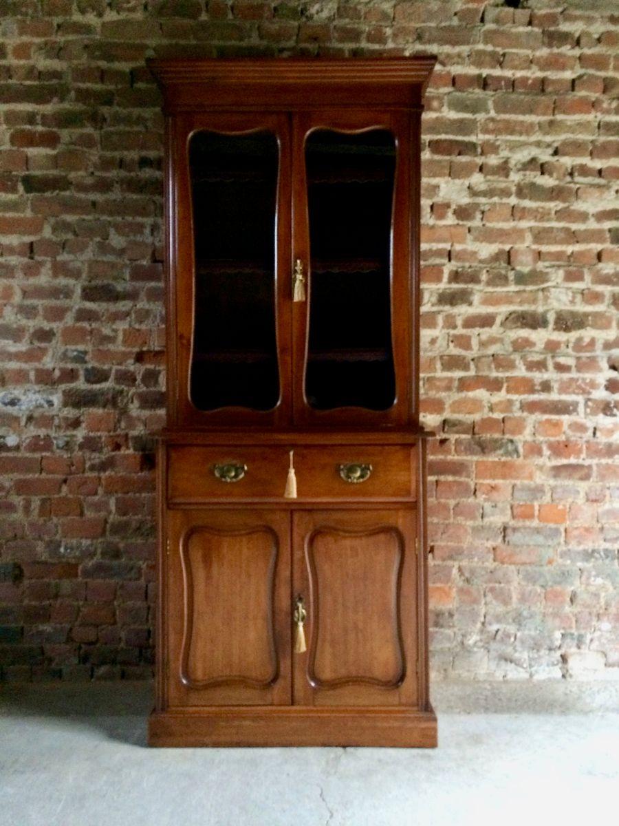 antike vitrine aus mahagoni 1870er bei pamono kaufen. Black Bedroom Furniture Sets. Home Design Ideas