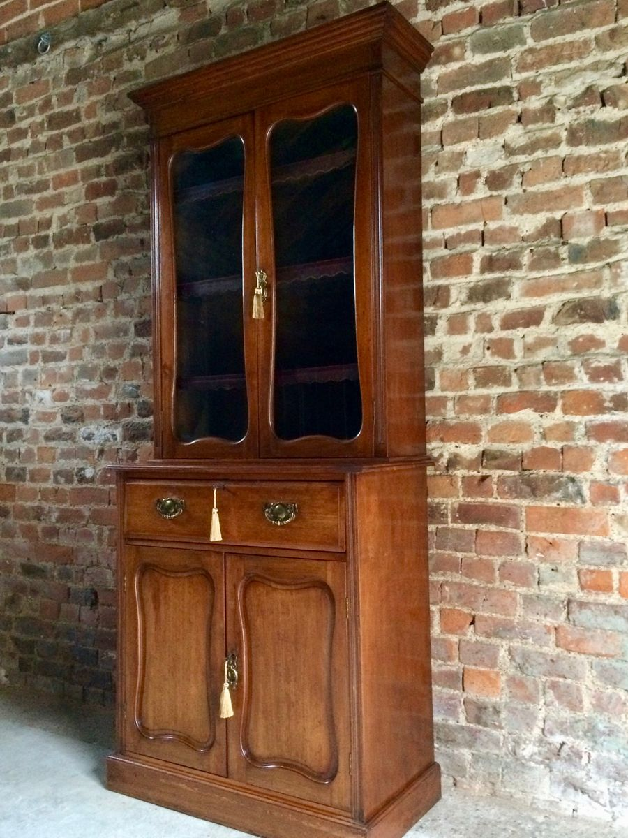 - Antique Display Cabinet In Mahogany, 1870s For Sale At Pamono