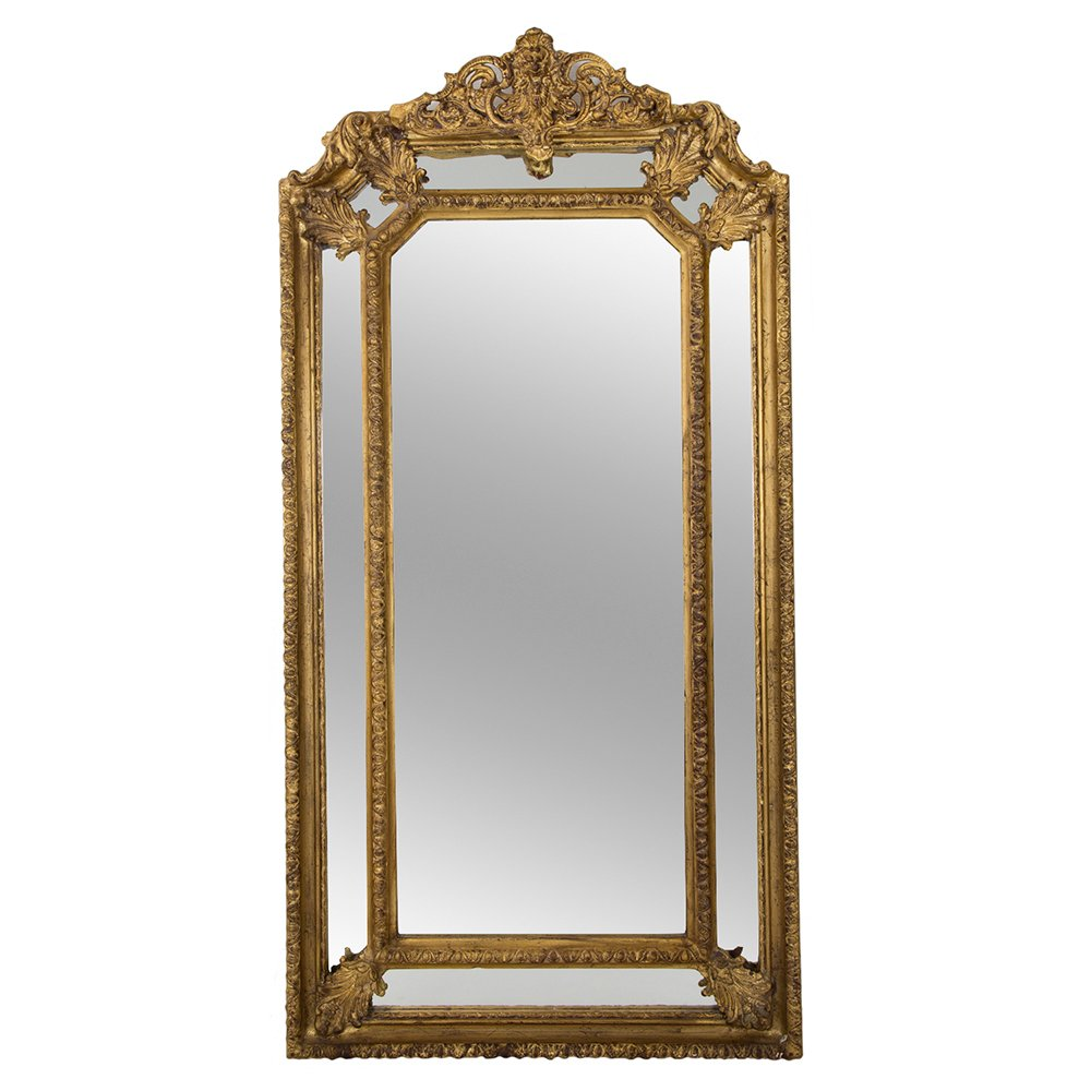 antiker franz sischer spiegel bei pamono kaufen. Black Bedroom Furniture Sets. Home Design Ideas