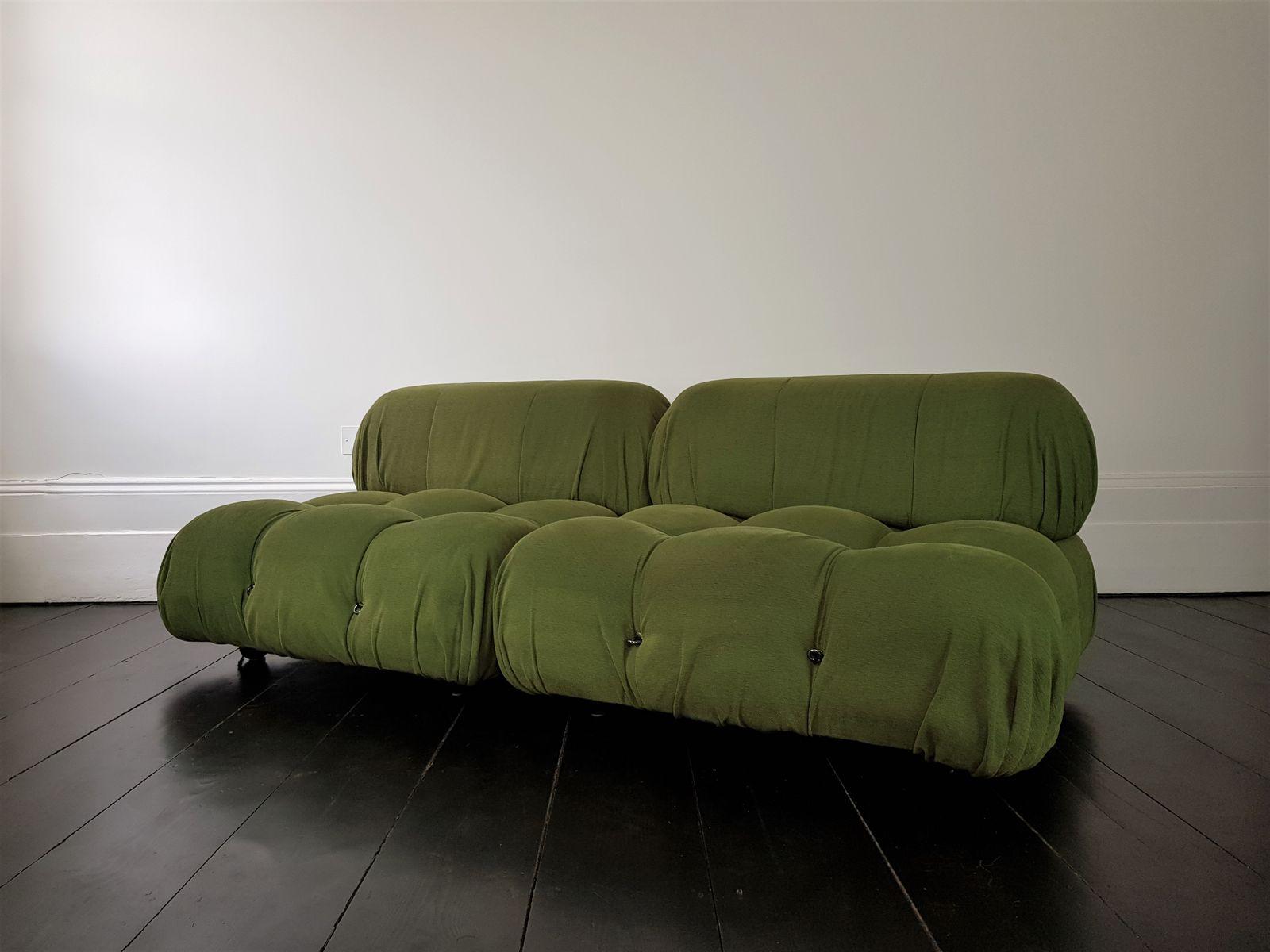Vintage camaleonda modular sofa by mario bellini for b b for Sofa cama vintage