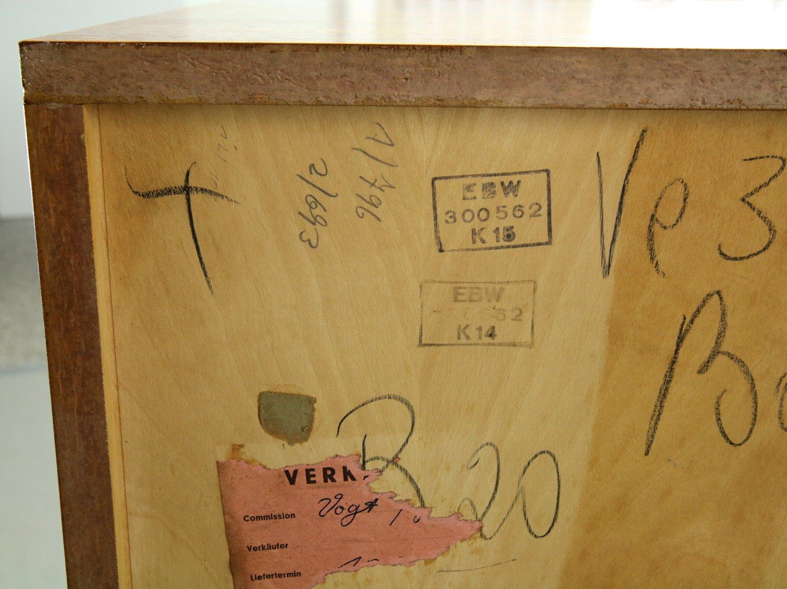 Vintage Teak B20 Sideboard by Dieter Waeckerlin for Behr Massmöbel ...