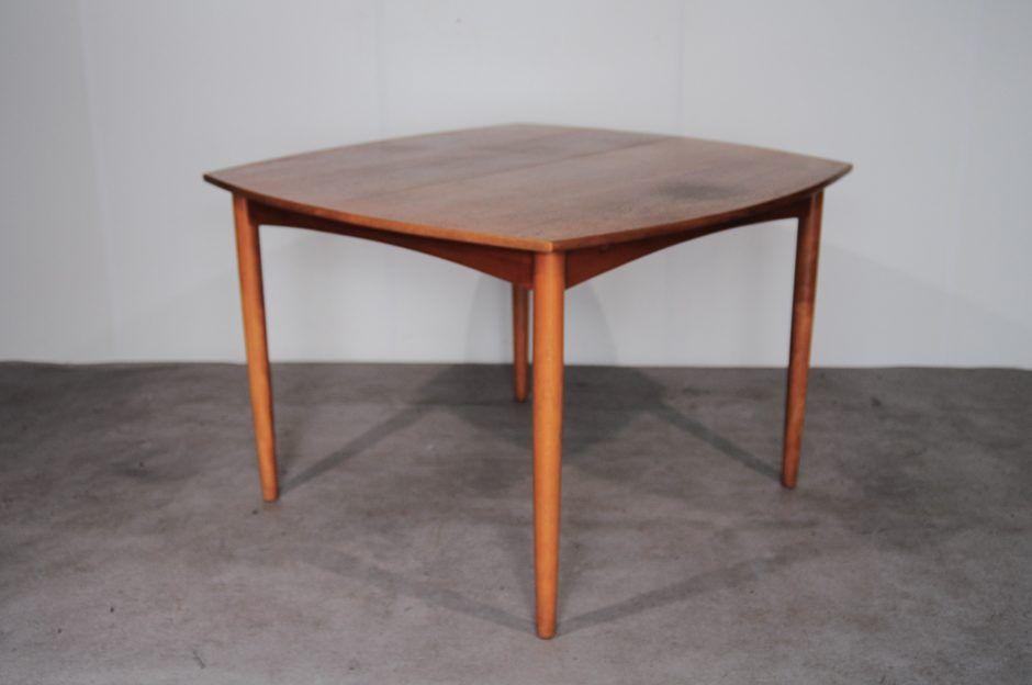 ... Watchthetrailerfo Danish Teak Square Extendable Dining Table 1960s For  Sale At Pamono Danish Teak Square Extendable Dining ...