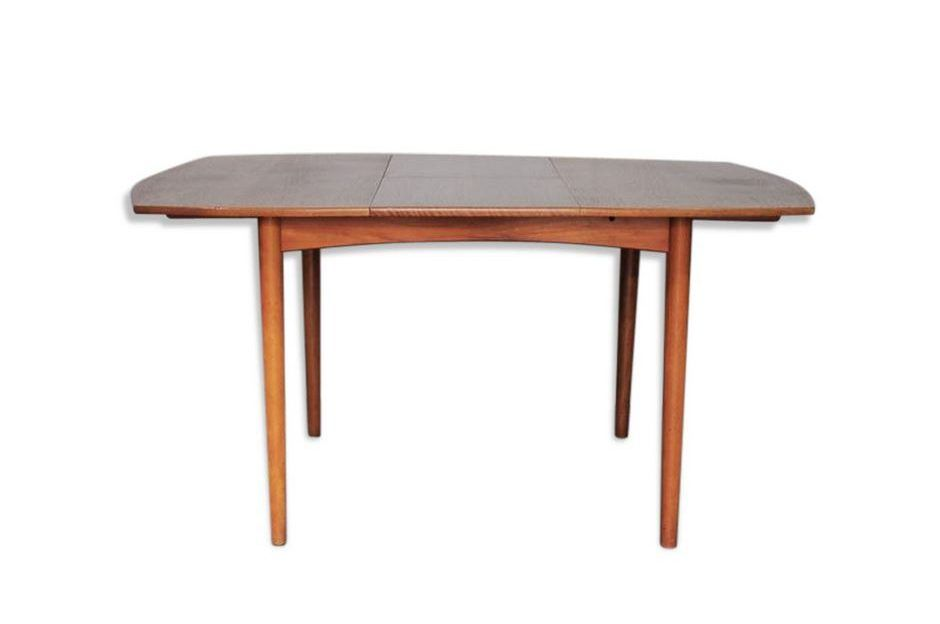 Danish Teak Square Extendable Dining Table, 1960s