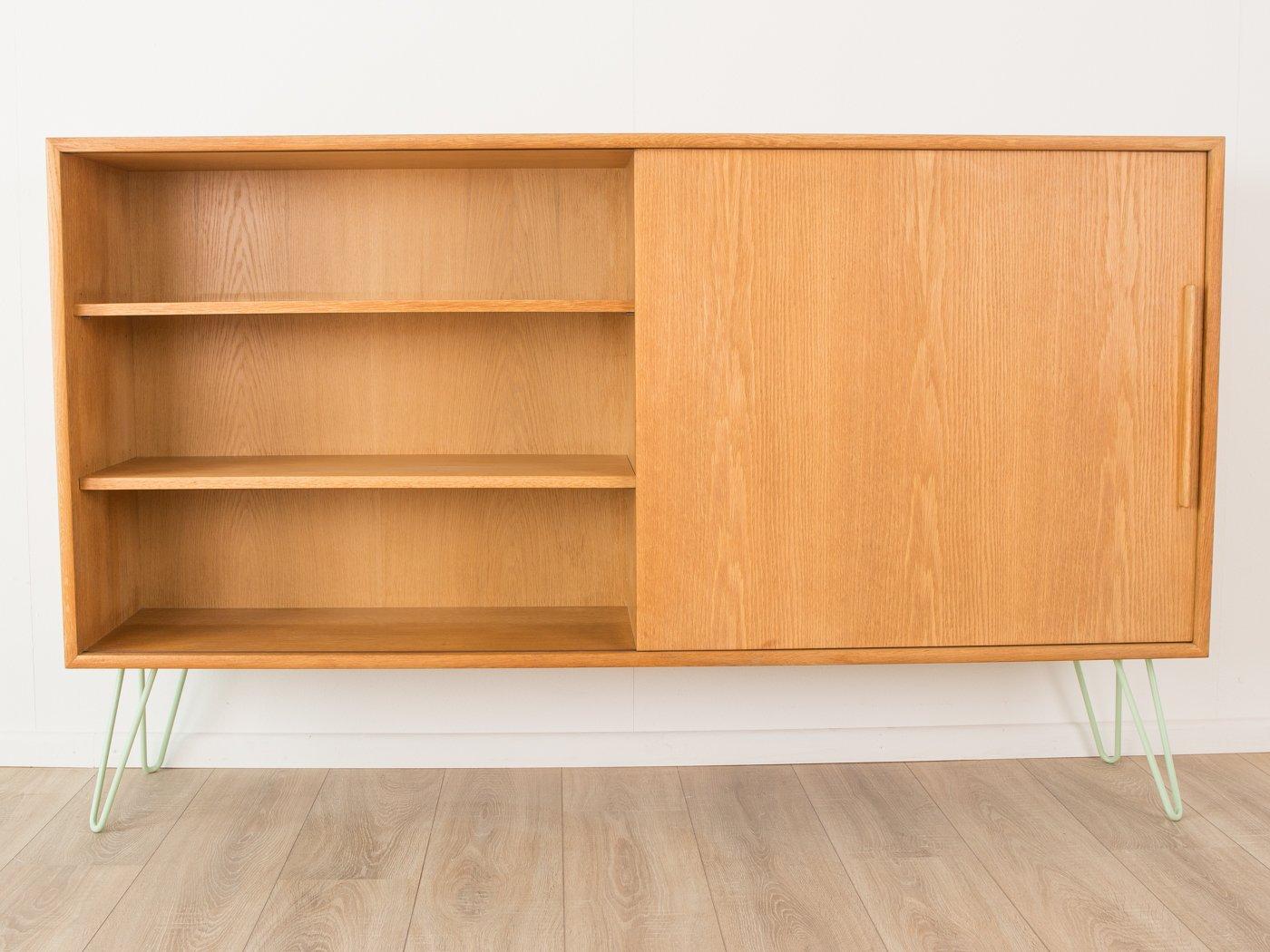 oak veneer sideboard from wk m bel 1960s en vente sur pamono. Black Bedroom Furniture Sets. Home Design Ideas