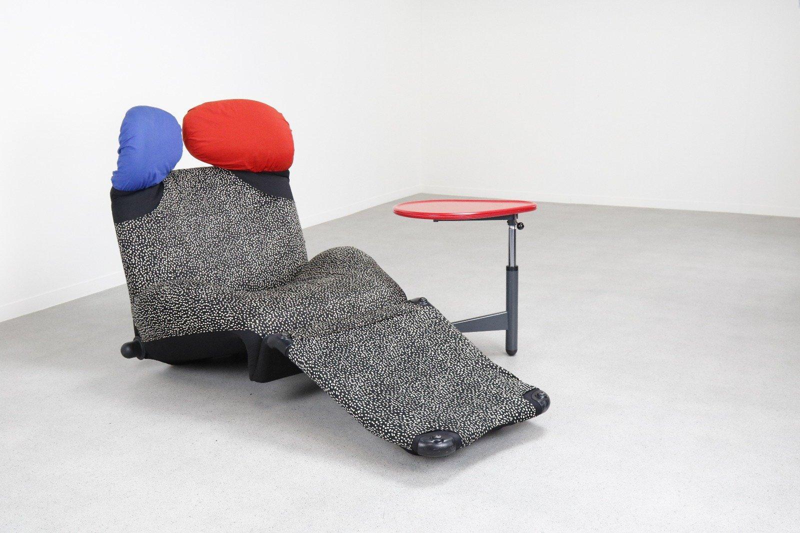 Wink Lounge Chair Amp Kick Side Table By Toshiyuki Kita For