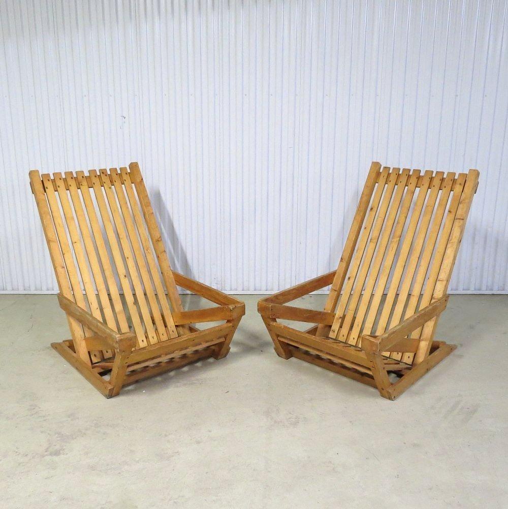 Skandinavischer Sessel skandinavischer sessel aus pinienholz 1960er 2er set bei pamono kaufen