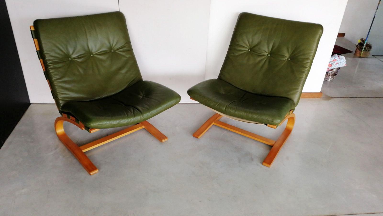 Skandinavische Sessel skandinavische sessel oddvin rykken für rybo 1960er 2er set