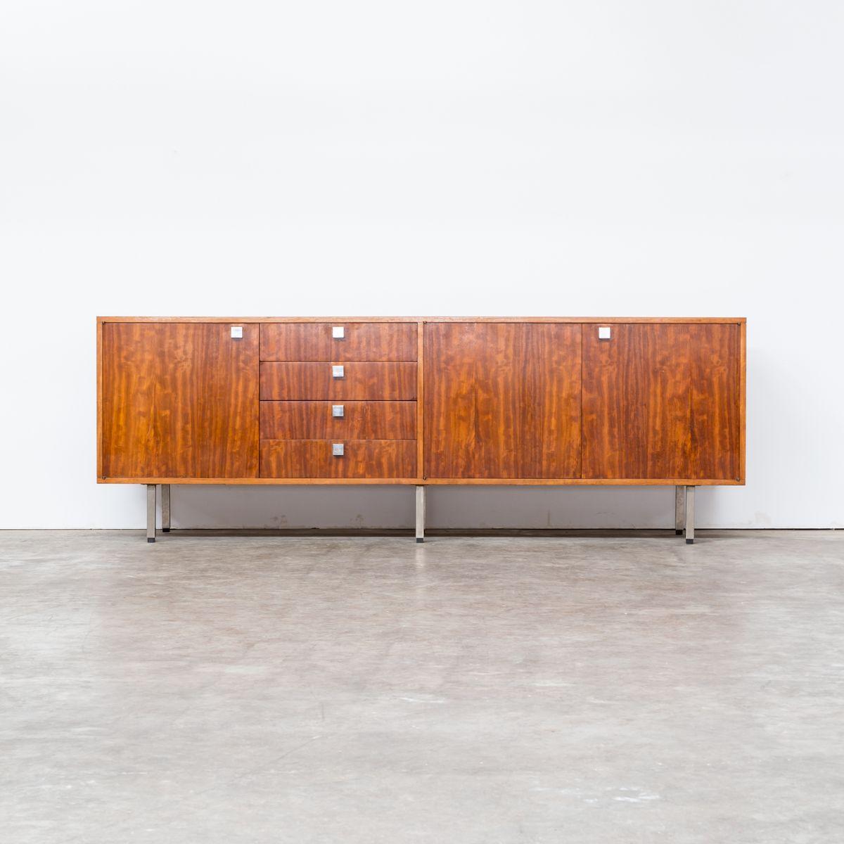 gro es sideboard von alfred hendrickx 1960er bei pamono. Black Bedroom Furniture Sets. Home Design Ideas