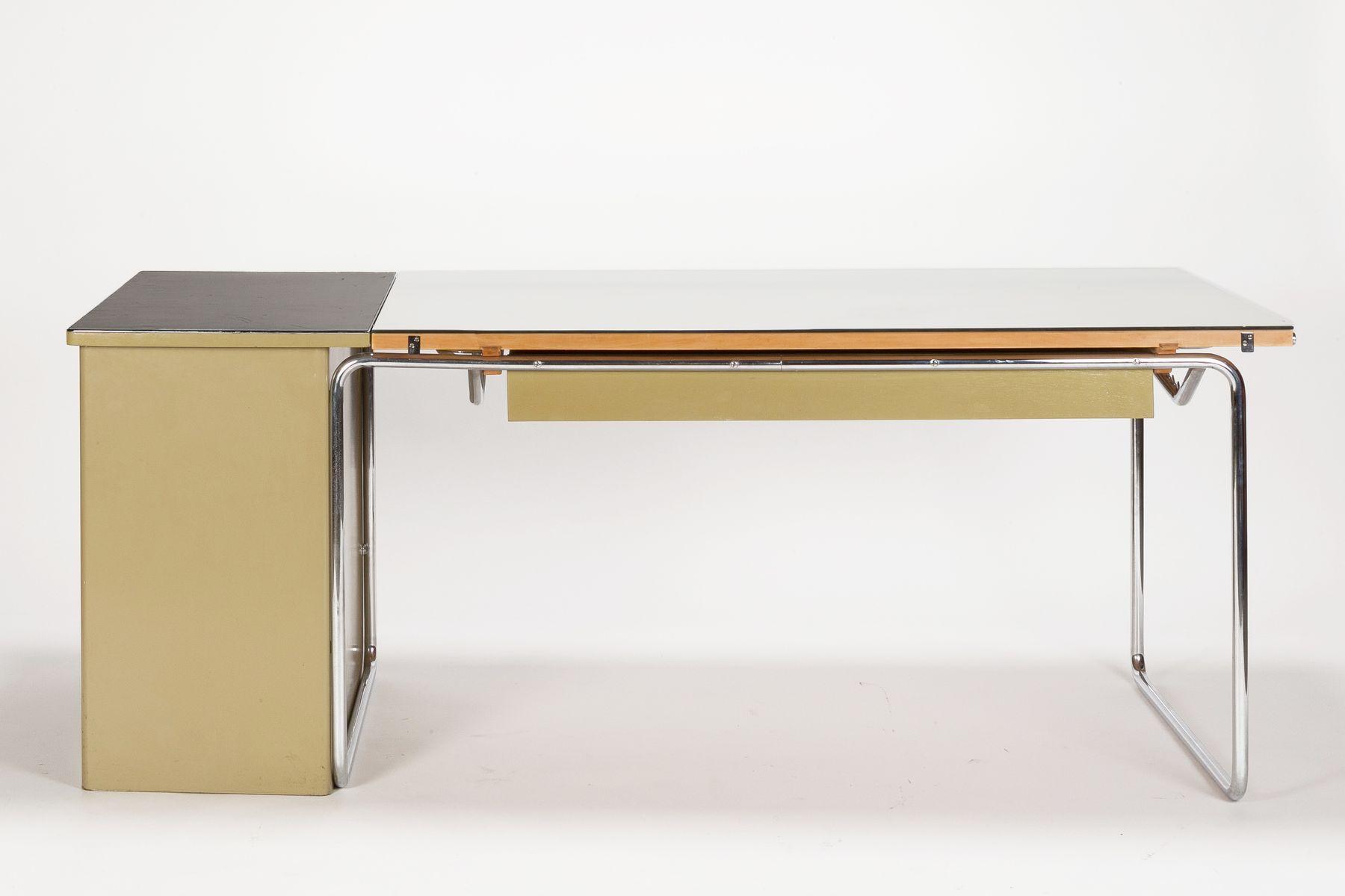 architekten schreibtisch von bigla 1950er bei pamono kaufen. Black Bedroom Furniture Sets. Home Design Ideas