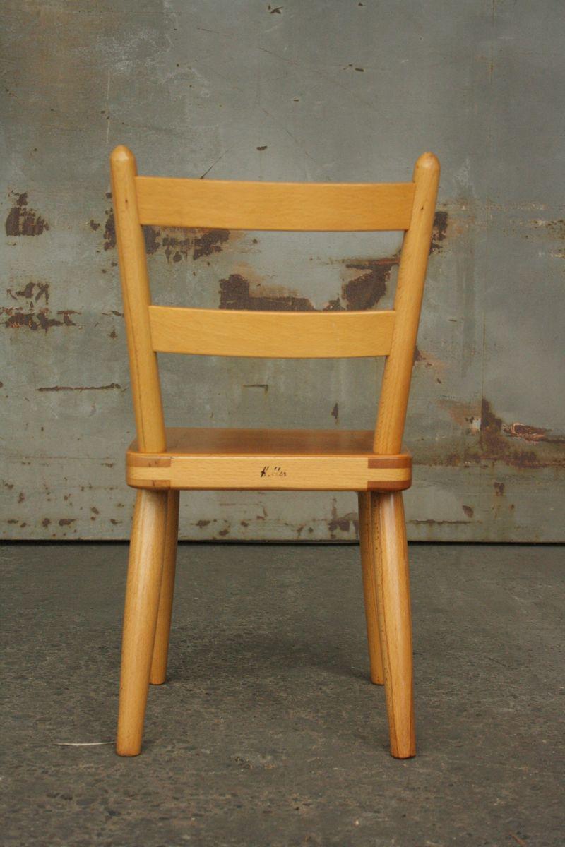 vintage kinder tisch und stuhl von hiller 1960er bei. Black Bedroom Furniture Sets. Home Design Ideas