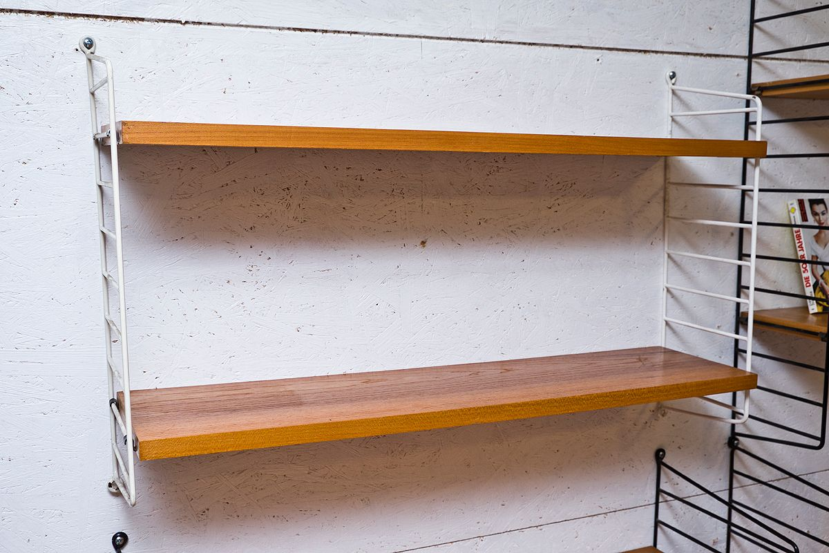 Nisse Strinning wall shelf by kajsa nils nisse strinning for string 1960s for