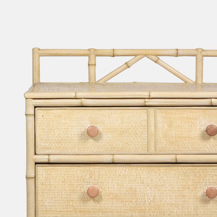 Vintage Kommode In Bambus Optik Bei Pamono Kaufen