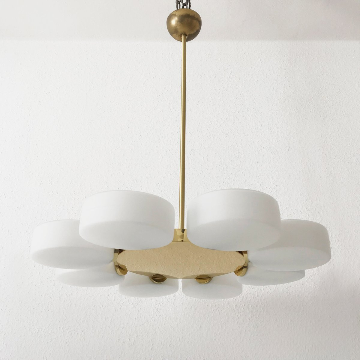 Mid century ceiling lamp from kaiser leuchten for sale at pamono mid century ceiling lamp from kaiser leuchten mozeypictures Choice Image